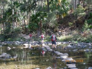 Crossing Carnarvon Creek