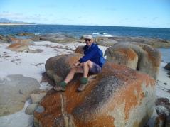 Granite shoreline Sawyers Bay Flinders Is.